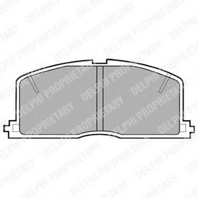 Гальмівні колодки дискові TOYOTA Celica/Corolla/Corona/Camri/Starlet ''F ''83-03