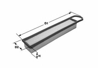 MA3148 CLEAN FILTERS Воздушный фильтр