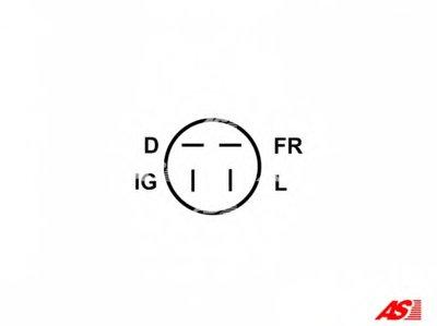 ARE6005 AS-PL Регулятор генератора -1