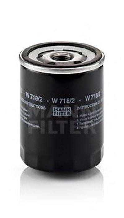 W7182 MANN-FILTER Масляный фильтр