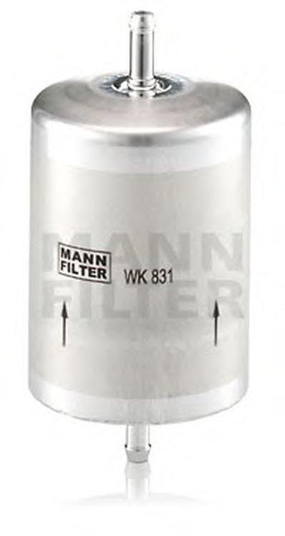 WK831 MANN-FILTER Топливный фильтр