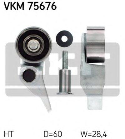 VKM75676 SKF Натяжной ролик, ремень ГРМ