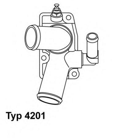 Термостат WAHLER 420192D