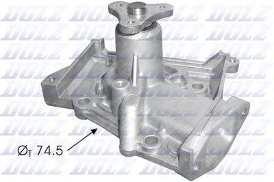 Насос Охлаждающей Жидкости Автомобиля (Помпа) DOLZ K107 для авто KIA с доставкой