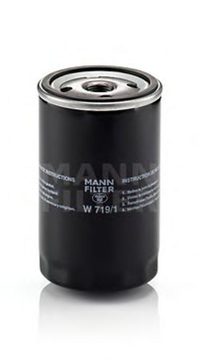 W7191 MANN-FILTER Масляный фильтр; Фильтр, система вентиляции картера