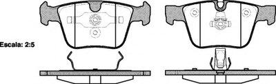 К-кт колодок зад. DB CL-Series (W216)/S-Series (W221)/ML-Series (W164)/R-Series (W251) (05-13) REMSA 121600 для авто MERCEDES-BENZ с доставкой