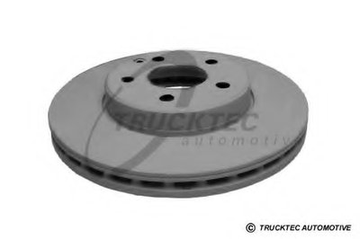 Brake Disc Front Axle (295 x 28 mm / 5)