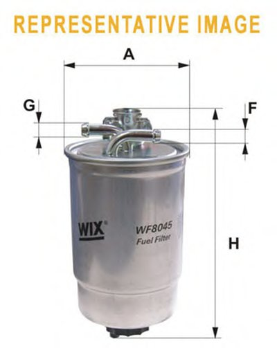 WF8368 WIX FILTERS 8368   (839/9)