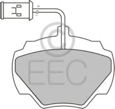 Комплект тормозных колодок, дисковый тормоз EEC купить