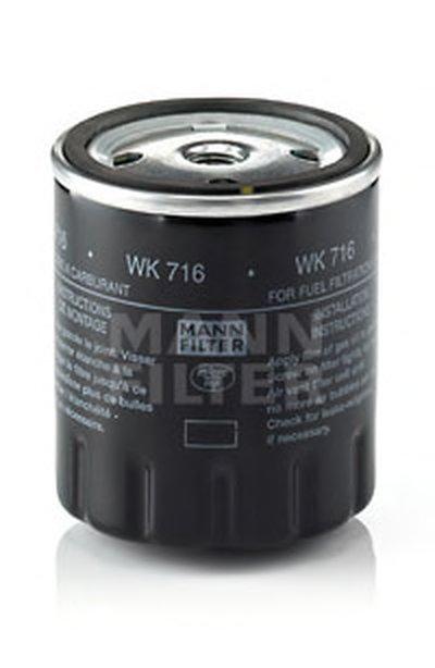 WK716 MANN-FILTER Топливный фильтр
