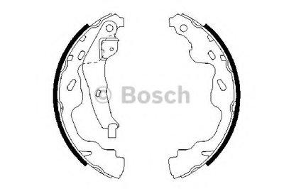 Комплект тормозных колодок BOSCH купить