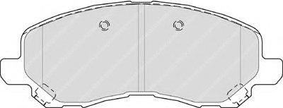 FERODO FDB4388 Тормозные колодки дисковые