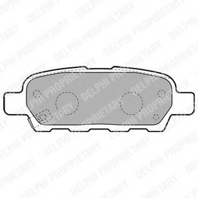 Гальмівні колодки дискові INFINITI/NISSAN FX35/FX45/G35/X-Trail