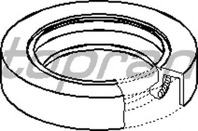 Уплотняющее кольцо, дифференциал TOPRAN купить