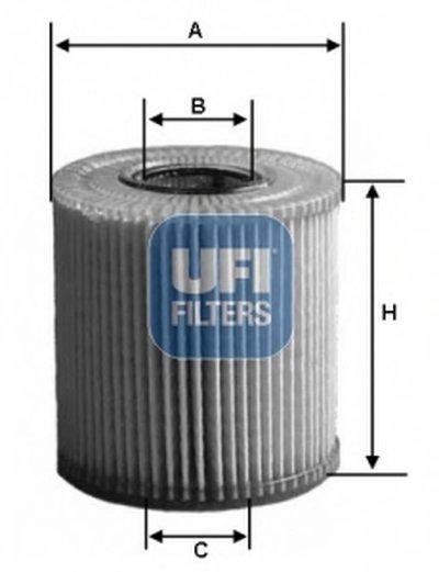 2515900 UFI Масляный фильтр