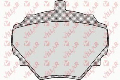 Комплект тормозных колодок, дисковый тормоз VILLAR купить