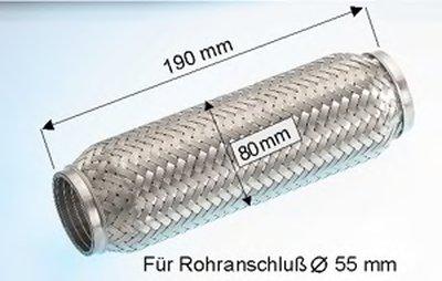 Гофрированная труба, выхлопная система EBERSPÄCHER купить