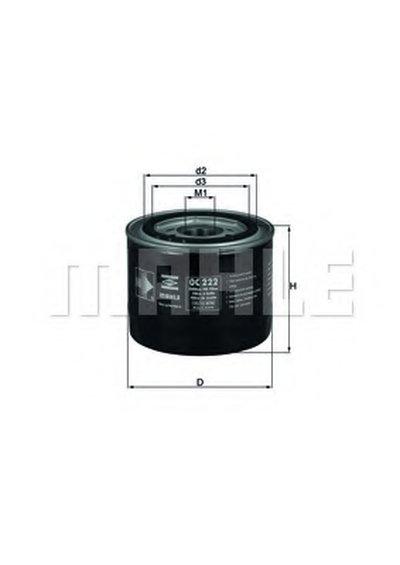 OC222 KNECHT Масляный фильтр