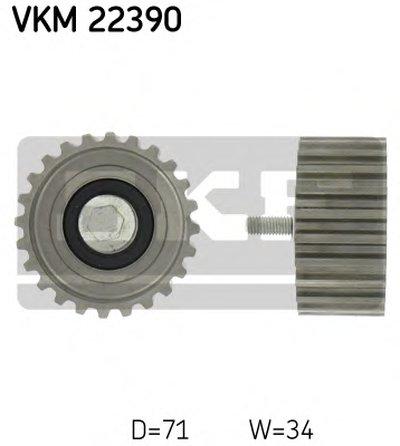"""Ролик паразитний FIAT/IVECO Ducato/Daily """"2,3L """"02>>"""