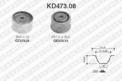 KD47308 SNR Комплект ремня ГРМ