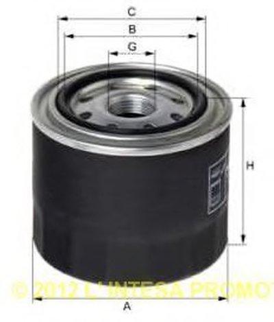 XO47 UNIFLUX FILTERS Масляный фильтр
