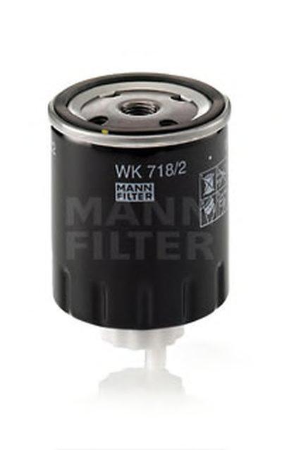 WK7182 MANN-FILTER Топливный фильтр