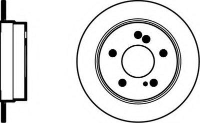 92032003 TEXTAR Тормозной диск
