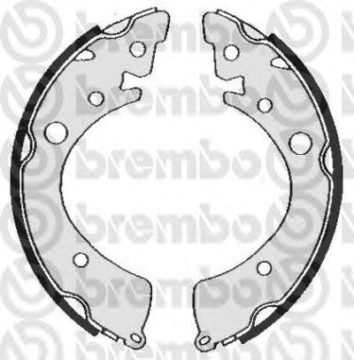 Комплект тормозных колодок BREMBO купить