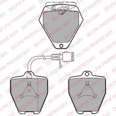 Гальмівні колодки дискові AUDI S4/S6