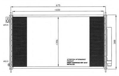 Радиатор Кондиционера NRF 35559 для авто HONDA с доставкой