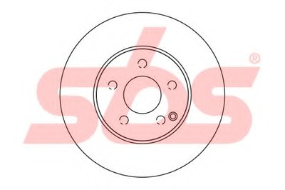 203359V_диск тормозной передний!\ MB W211 1.8-2.8 02> SBS 1815203359 для авто MERCEDES-BENZ с доставкой