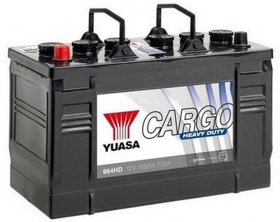 Стартерная аккумуляторная батарея Cargo Heavy Duty Batteries (HD) YUASA купить