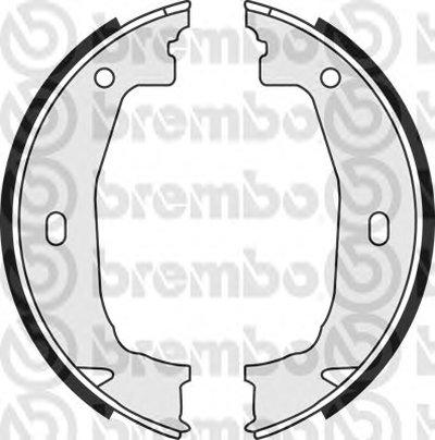 Комплект тормозных колодок, стояночная тормозная система BREMBO купить