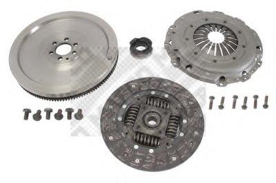 Комплект сцепления с маховиком MAPCO 10767 для авто AUDI, SEAT, SKODA, VW с доставкой