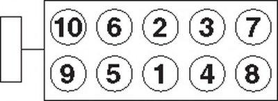 Болты Гбц, Комплект PAYEN HBS087 для авто CITROËN, FIAT, LANCIA, PEUGEOT с доставкой-1