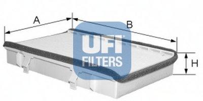 5304900 UFI Фильтр, воздух во внутренном пространстве