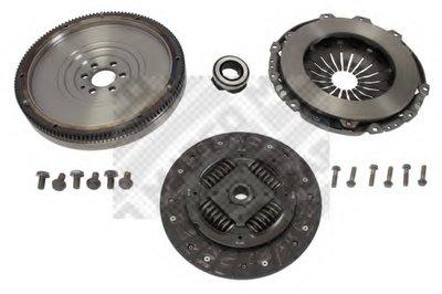 Комплект сцепления с маховиком MAPCO 10767 для авто AUDI, SEAT, SKODA, VW с доставкой-1
