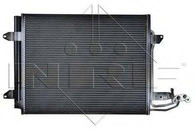 Nrf 35521_Радиатор Кондиционера ! Vw Caddytouran 1.4-2.01.9Tdi 04 NRF 35521 для авто VW с доставкой-1