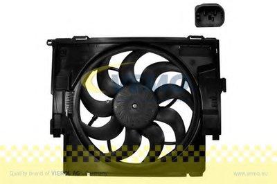 Вентилятор, охлаждение двигателя Q+, original equipment manufacturer quality VEMO купить