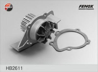 Hb2611_Помпа! Peugeot 306-806, Citroen Xantiazx 2.0I1.9D-2.1D 89 FENOX HB2611 для авто CITROËN, FIAT, HYUNDAI, LANCIA, PEUGEOT, ROVER с доставкой
