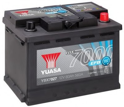 Стартерная аккумуляторная батарея YBX7000 EFB Start Stop Plus Batteries YUASA купить