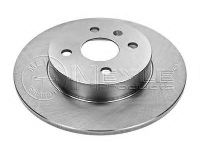 Тормозной диск задний Opel ASTRA H, COMBO, MERIVA