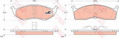 Гальмівні колодки дискові CHRYSLER (USA) - DODGE (Chrysler) - PLYMOUTH (Chrysler) Grand Voyager/Ne