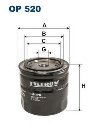 OP520 FILTRON Масляный фильтр