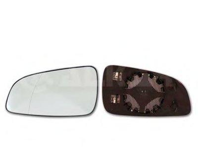 Стекло зеркала прав. с пласт. держателем, с подогревом, асферическое, выпуклое