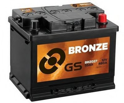 Стартерная аккумуляторная батарея GS Bronze Battery GS купить