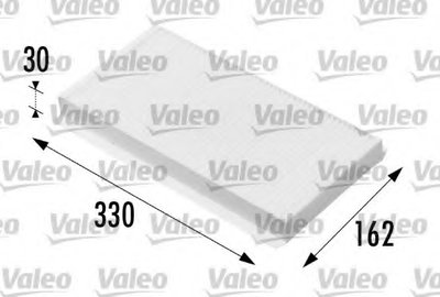 698711 VALEO Фильтр, воздух во внутренном пространстве