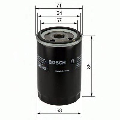 0451103272 BOSCH Масляный фильтр