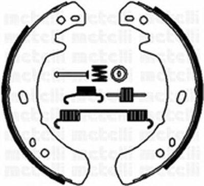 Комплект тормозных колодок, стояночная тормозная система METELLI купить