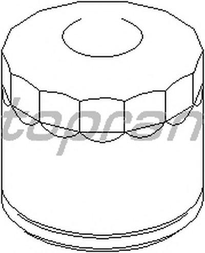 207580 TOPRAN Масляный фильтр